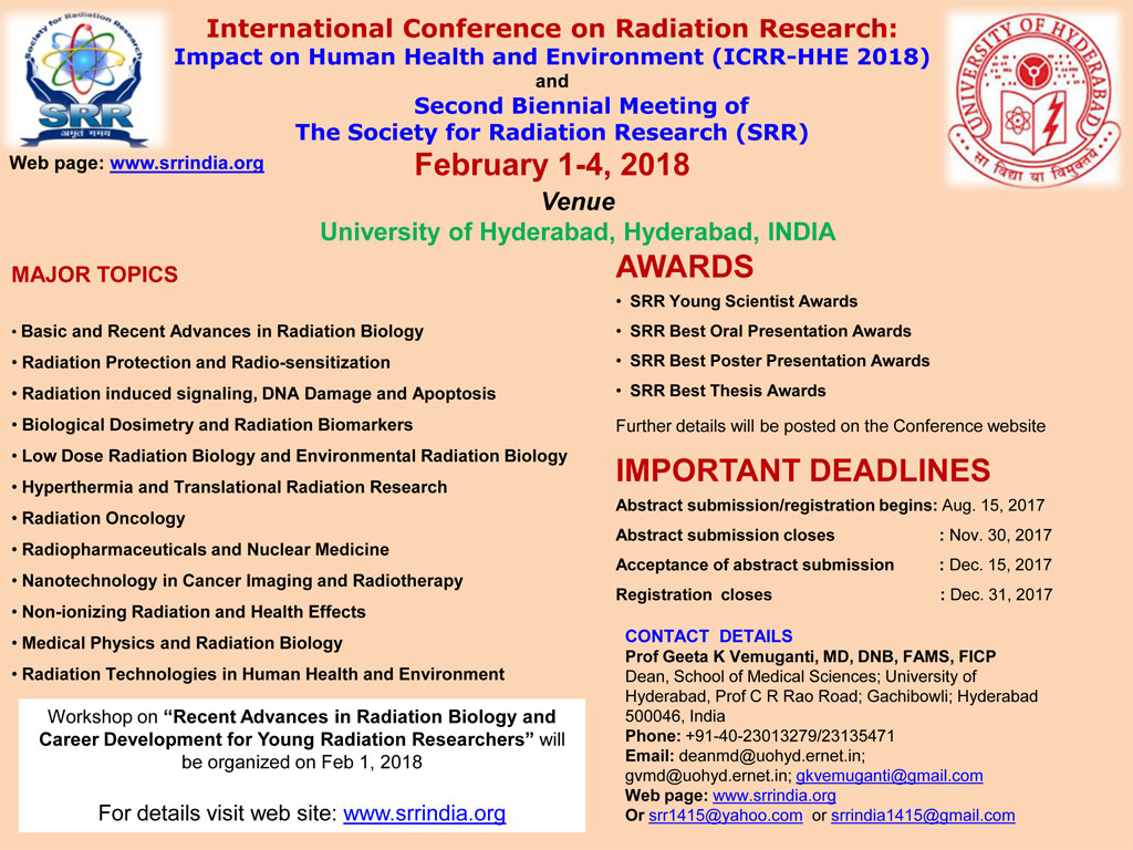 ICRR-HHE 2018